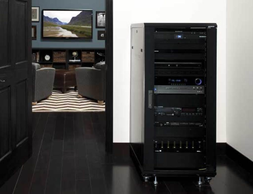 SANUS CFR2127 | Component Series AV Racks | Racks | Products | SANUS
