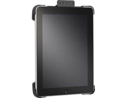 VMA301-B, Black, Front Right Vertical with iPad