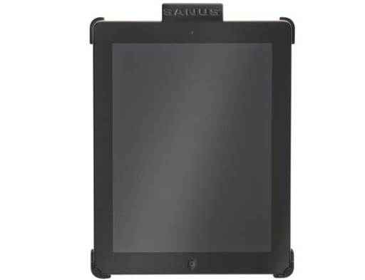 VMA302-B, Black, Front Vertical with iPad