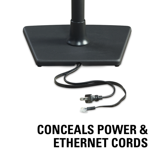 WSS21 Conceals power and ethernet cords