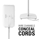 WSS51 Wire channels conceal cords