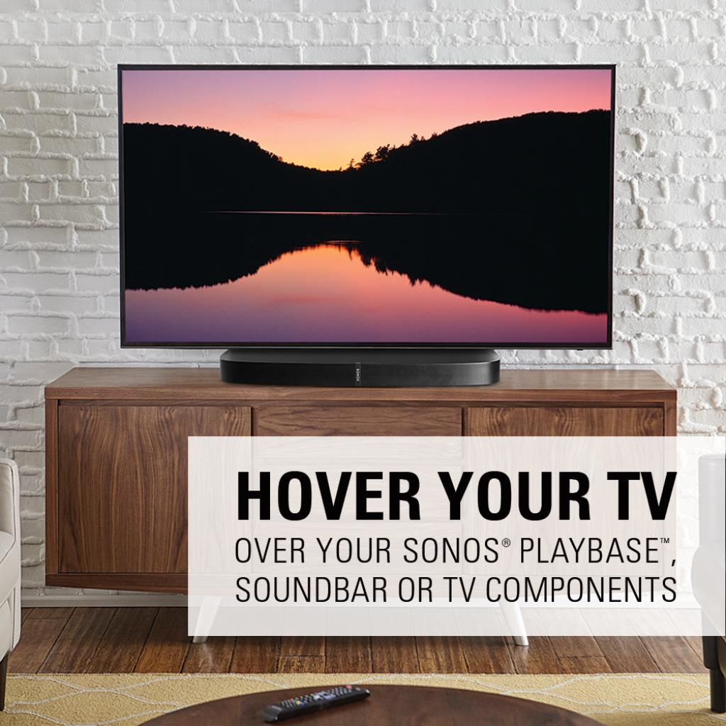 Sanus Swivel Tv Base For 32 Quot 60 Quot Tvs Designed To Be Sonos