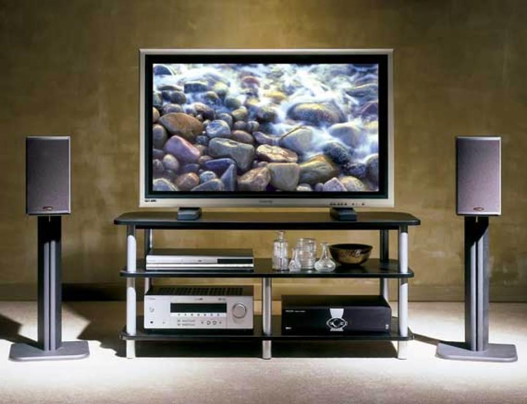 SANUS 31 Basic Series Bookshelf Speaker Stands