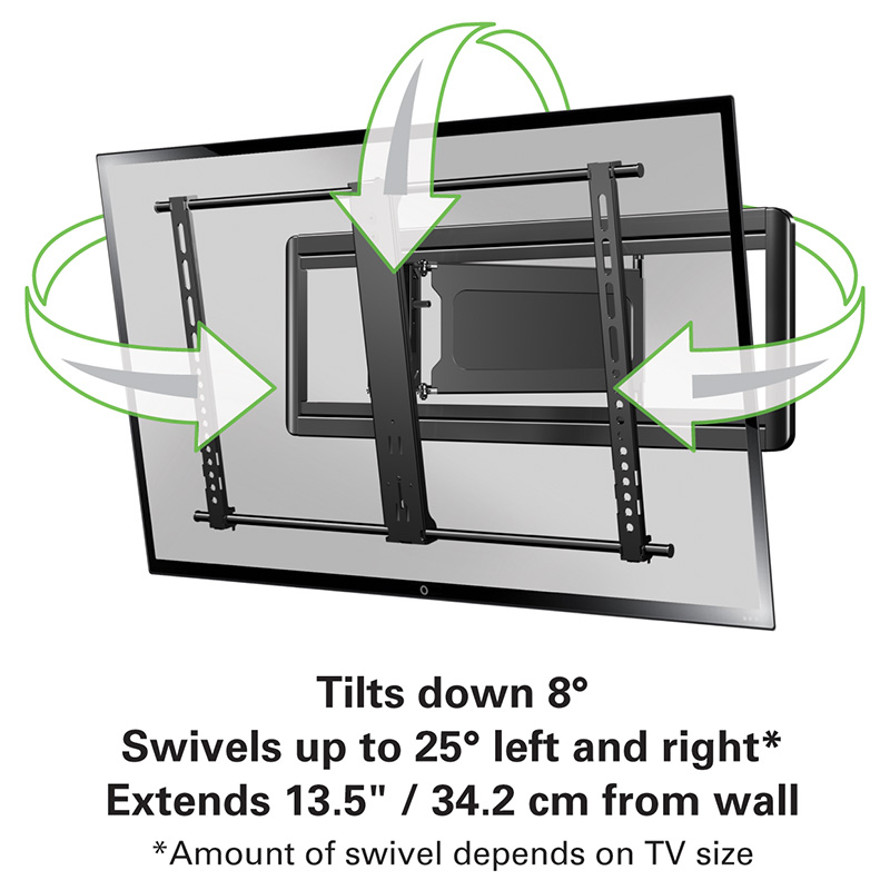 Sanus Blf213 Full Motion Wall Mounts Mounts Products