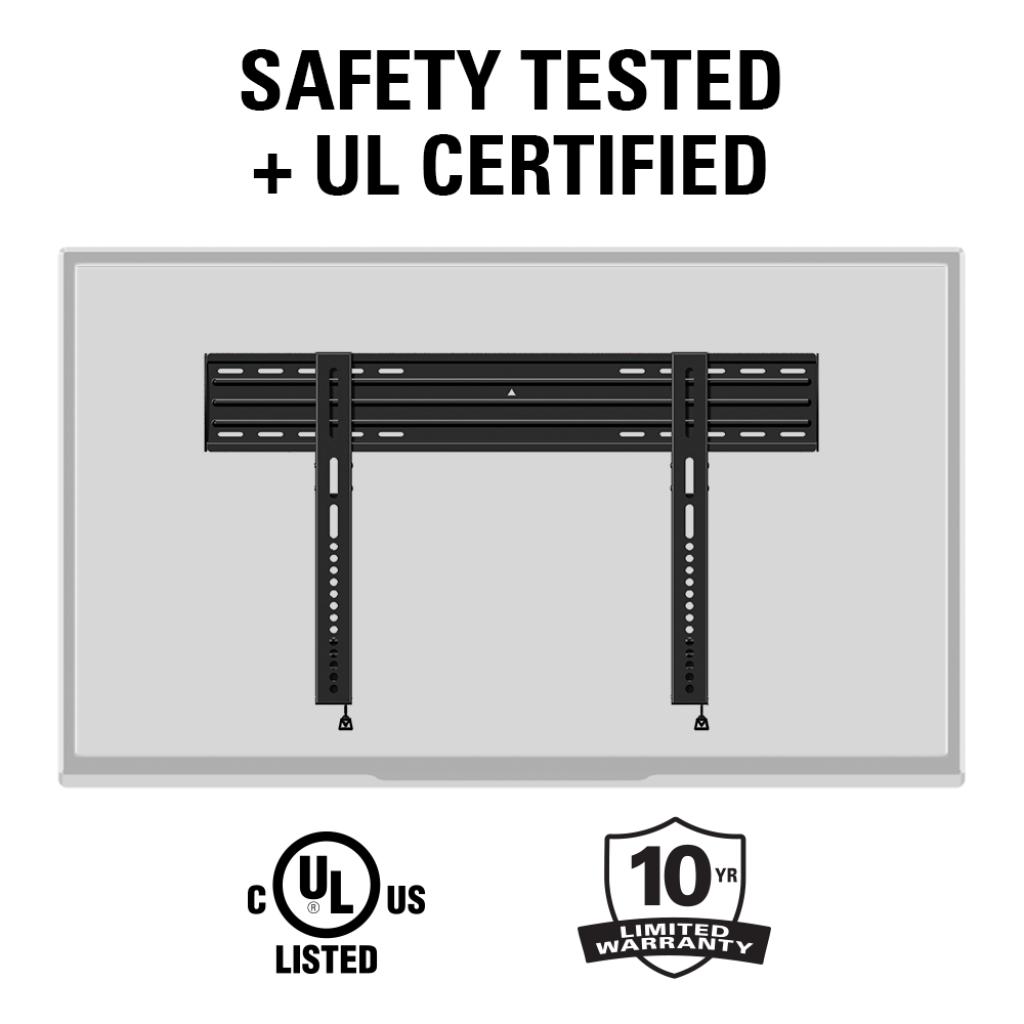 Sanus Bll2 Fixed Position Wall Mounts Mounts Products Sanus # Modele Table Pour Television Kitea Avec Prix