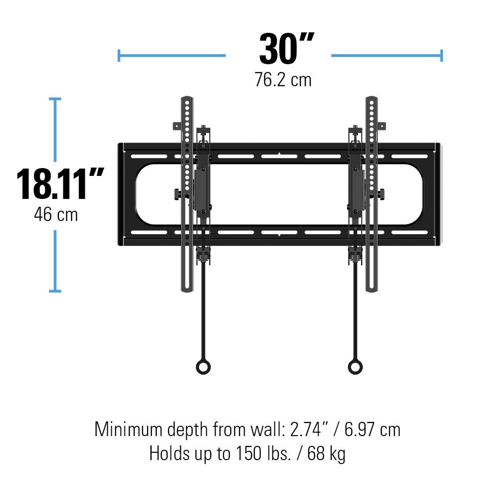 Sanus Blt2 Tilting Wall Mounts Mounts Products Sanus