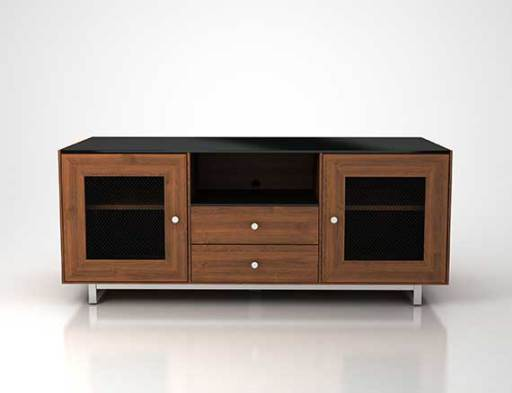 CADENZA61-NW Natural Walnut Front CGI