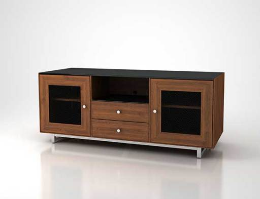 CADENZA61-NW Natural Walnut Front Left CGI