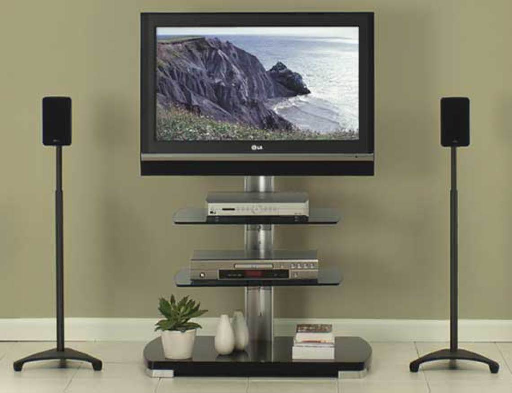 Sanus Ffmf2a Flat Panel Series Av Furniture Furniture  # Meuble Tv D'Angle Salvador
