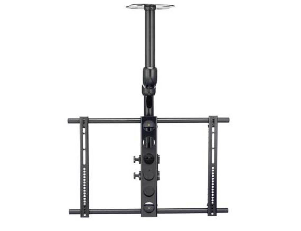 ceiling tv mount sanus tv ceiling mount for 37 quot 70 quot tvs with smooth tilt 10722