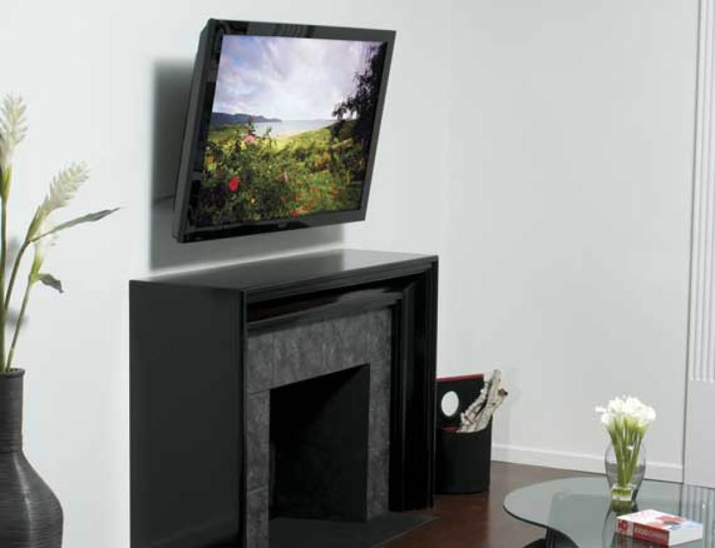 Motorisierte Neigbare Wandhalterung Für Flachbildfernseher Von 40 Bis 60  Zoll