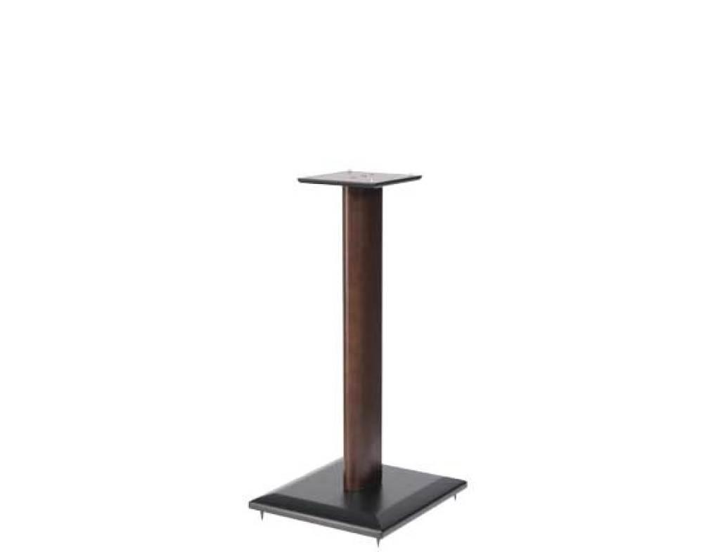SANUS 24 Natural Series Wood Pillar Bookshelf Speaker Stands