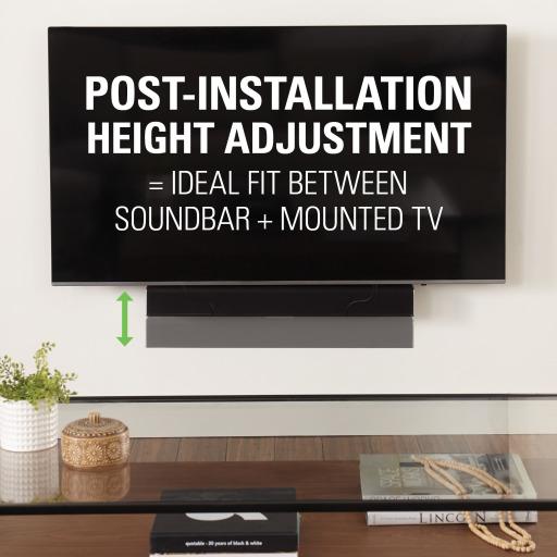 SASB1, Post installation height adjustment