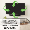 SASB1, Sounds moves with TV for ideal listening experience