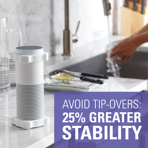 Avoid Tip-overs, 25% Greater Stability