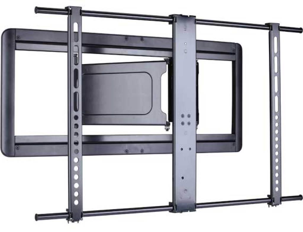 voll bewegliche super slim wandhalterung fr flachbildfernseher von 37 bis 84 zoll - Sanus Full Motion Tv Wandhalterung