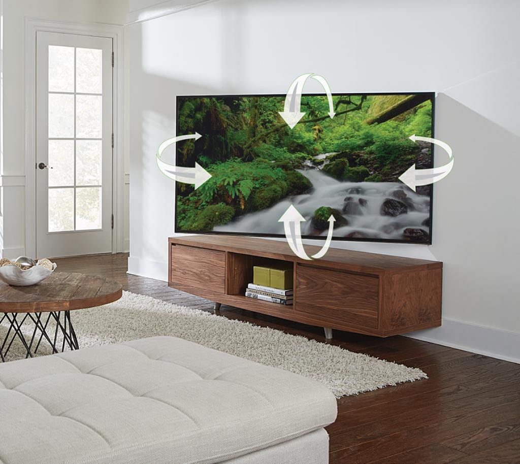 Sanus Vlf628 Full Motion Wall Mounts Mounts Products Sanus # Modele Table Pour Television Kitea Avec Prix