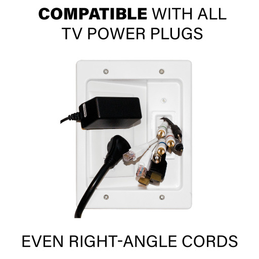 WSIWPSB1, Compatible with all TV power plugs