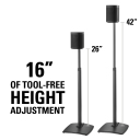 "WSSA2-B1 16"" Height Adjustment"