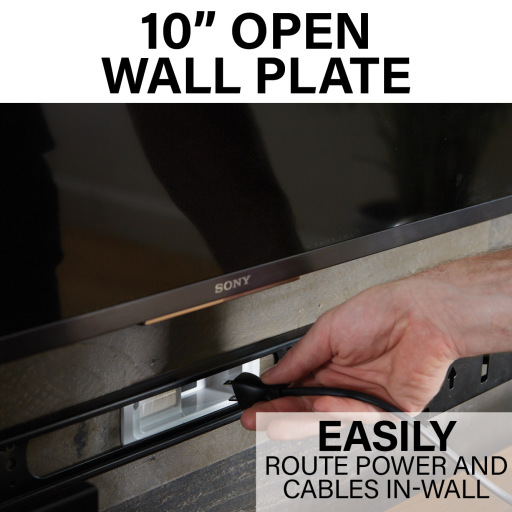 "WSSAWM1, 10"" open wall plate"