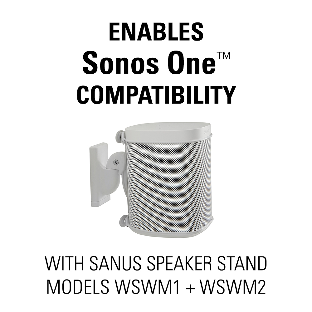 Sonos One Compatible Adapter Bracket For The Sanus